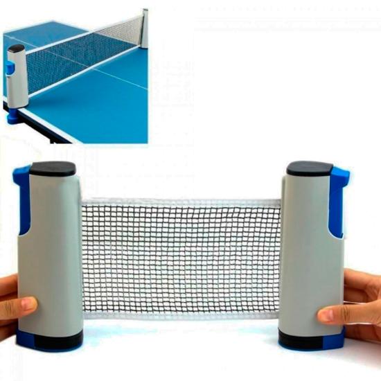 Rede Retrátil Para Mesa Jogo Ping Pong Bel Sports