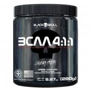 BCAA 4 1 1 LARANJA C  ACEROLA 280G BLACK SKULL - 037