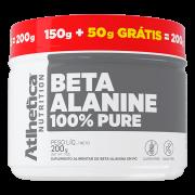 BETA-ALANINE 100% PURE 200G (150G + 50G GRATIS)