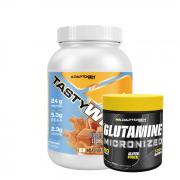 Combo Tasty Whey + Glutamina 300g