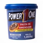 Pasta de Amendoim Power One - Chocolate c  Avelã 1,005 Kg