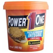 Pasta de Amendoim Power One Crocante 1,005kg