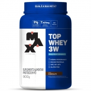 TOP WHEY 3W + PERFOR 900g Chocolate  - 006