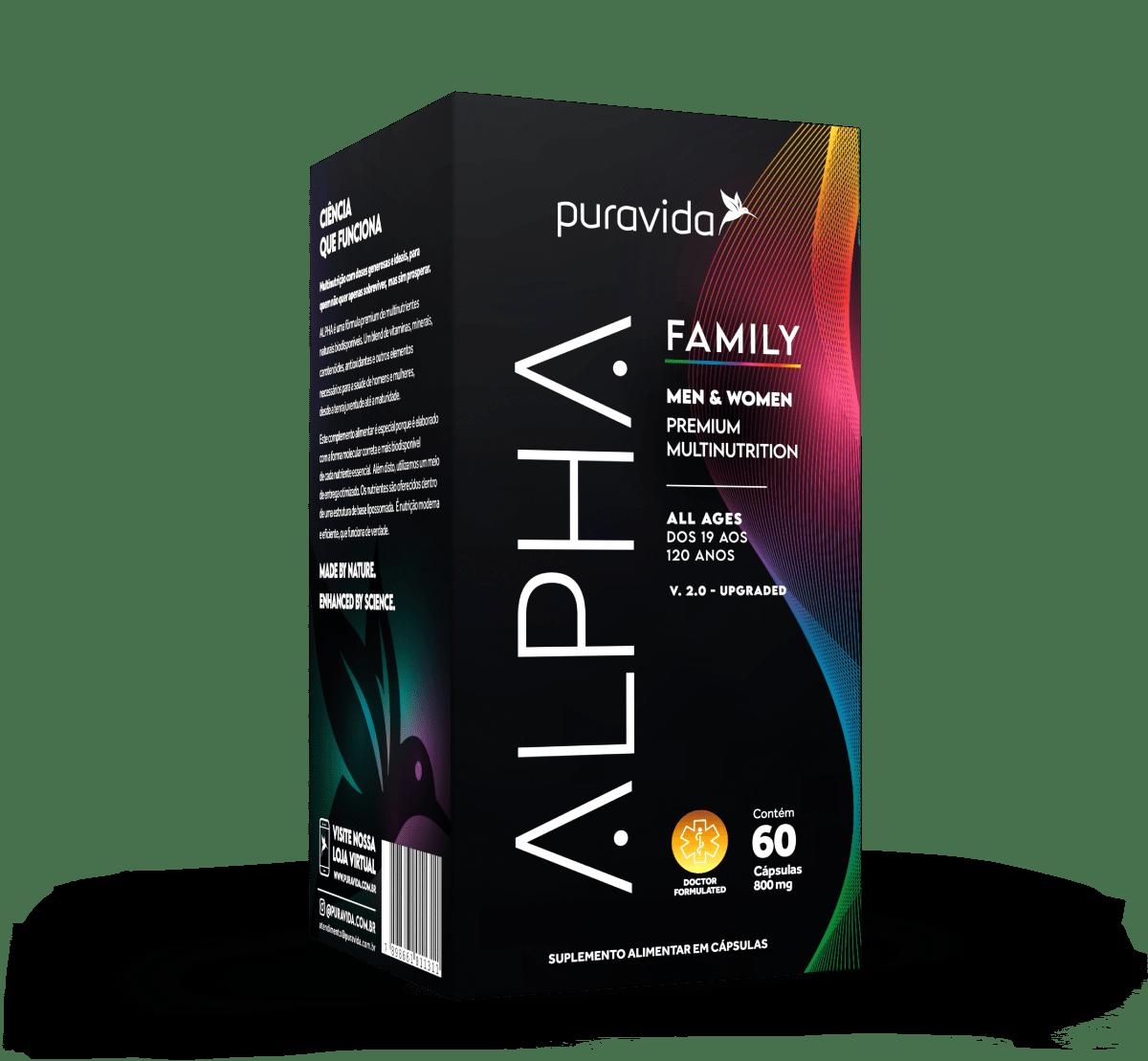 Alpha Family 60 caps - PURA VIDA