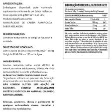 BCAA FIX POWDER (240g) LIMAO - DARKNESS - 001