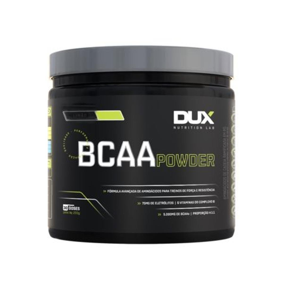 BCAA Powder - Pote 200g DUX NUTRITION