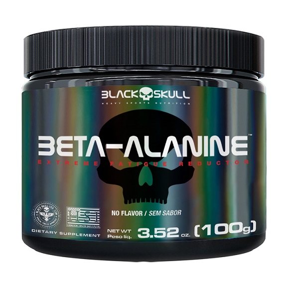 BETAALANINA BLACK SKULL100 G POTE
