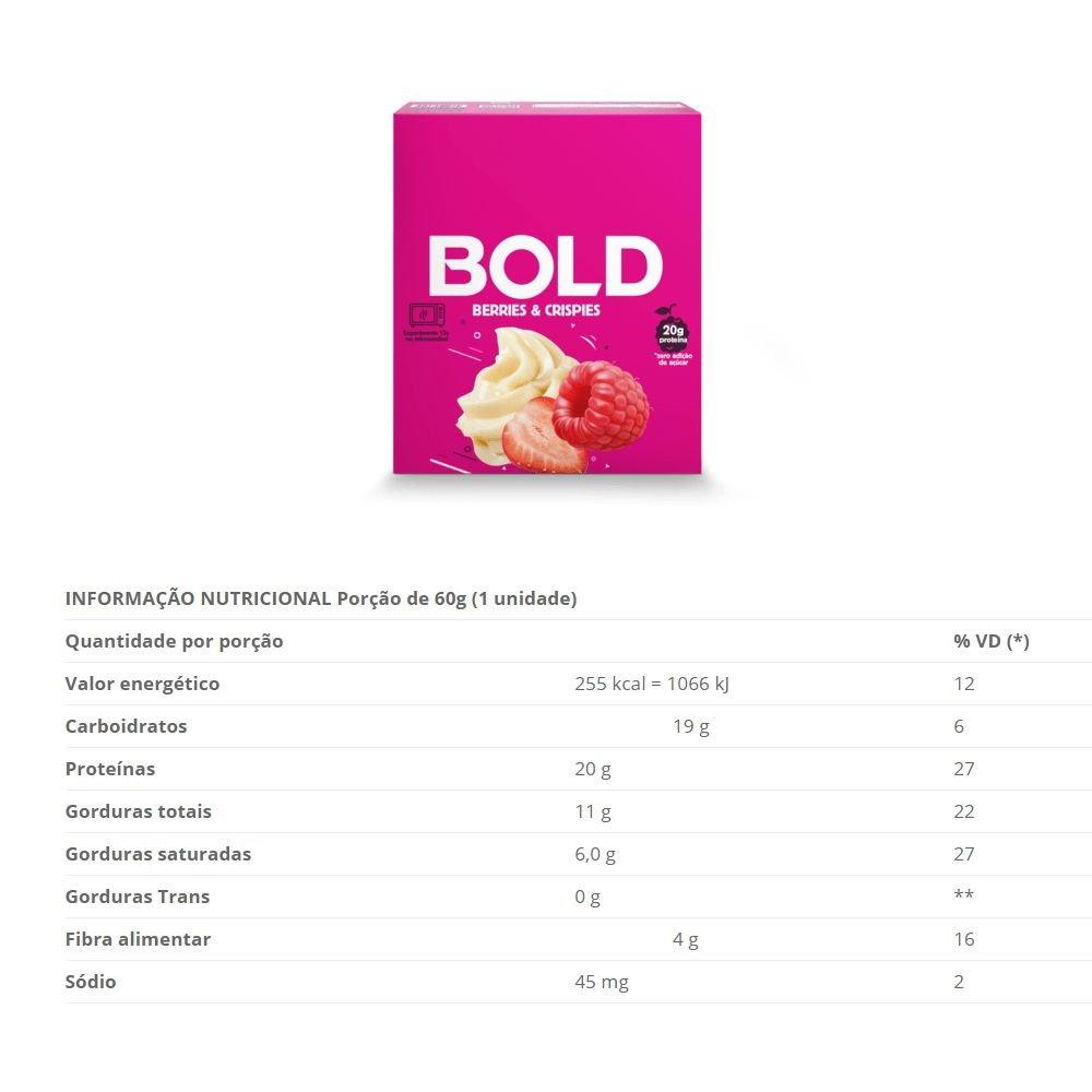 BOLD BAR BERRIES & CRISPIES - 018
