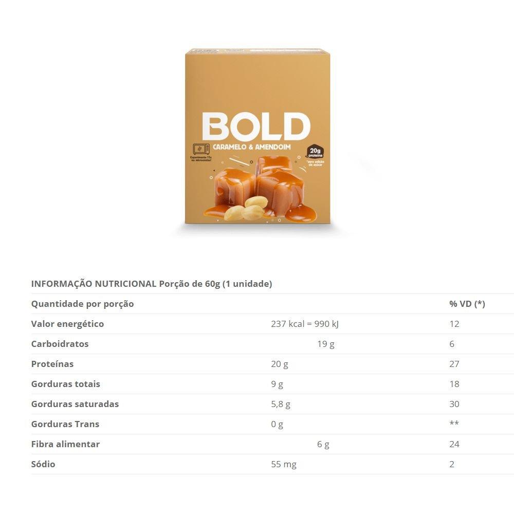 BOLD BAR CARAMELO & AMENDOIM - 018