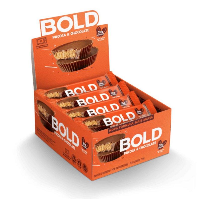 Bold Bar Paçoca 60g - 018