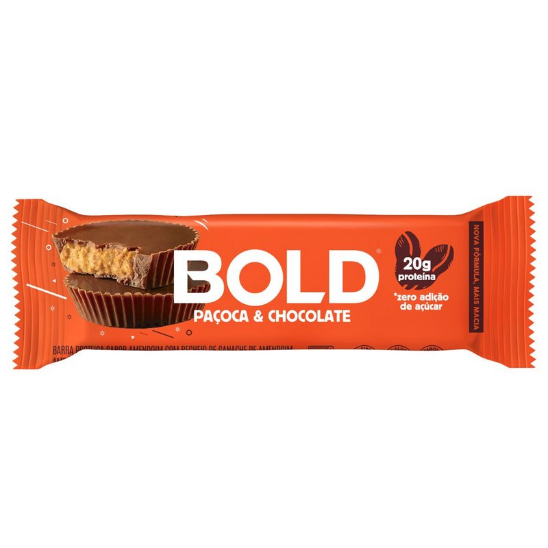 Bold Bar Paçoca 60g