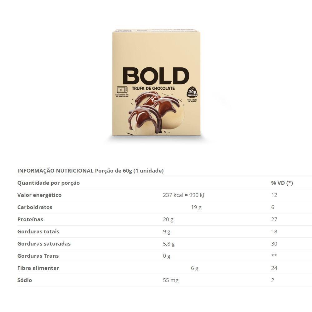 Bold Bar Trufa de Chocolate - 018