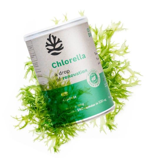 Chlorella 240 Tabletes - Ocean Drop