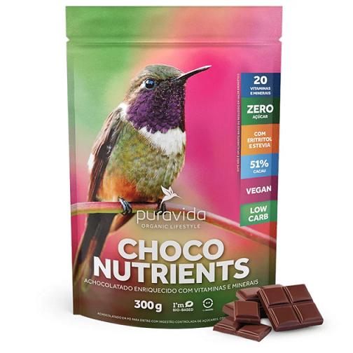 Choco Nutrients 300g - PURA VIDA