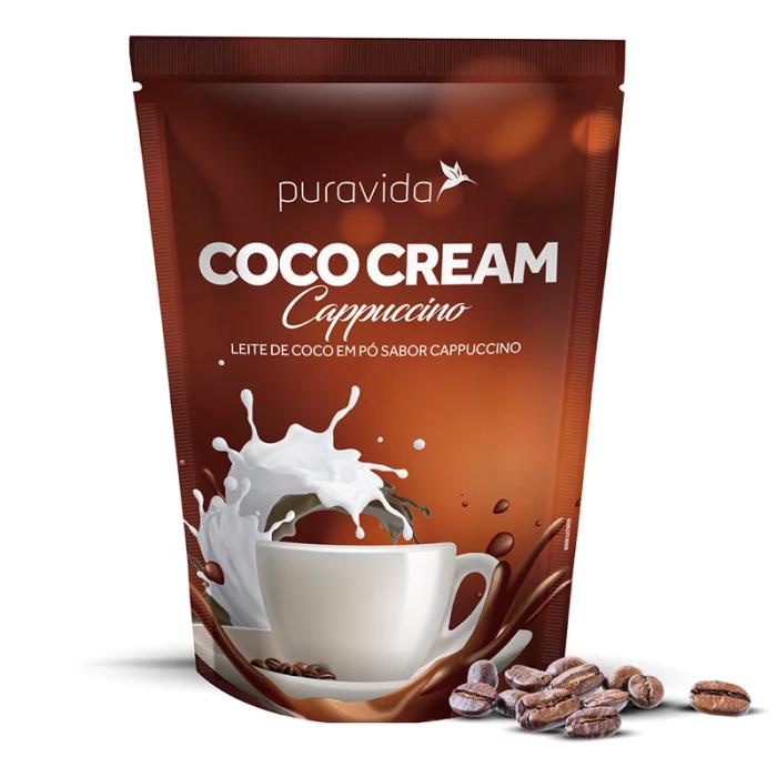 Coco Cream Cappuccino 250g - PURA VIDA