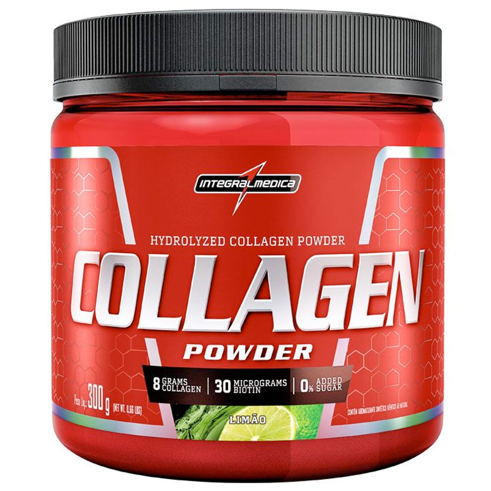 COLLAGEN POWDER (300g) LIMAO  - INTEGRALMEDICA