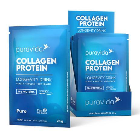 Collagen Protein Sache 23g - PURA VIDA