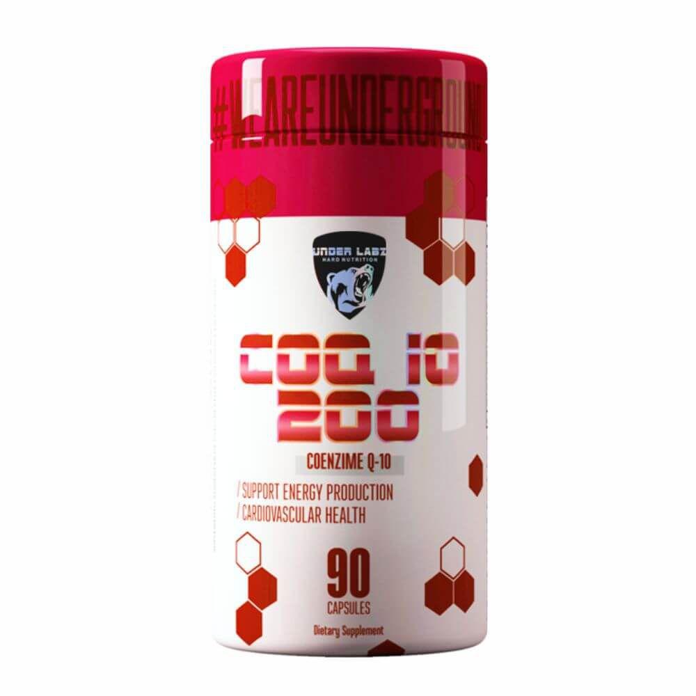 COQ-10 200 90 CAPSULES - Under Labz