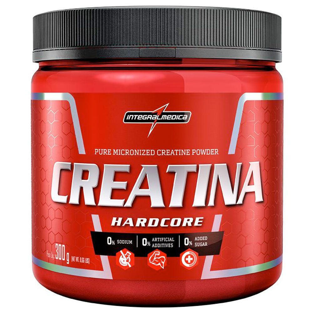 CREATINA (300g) - INTEGRALMEDICA