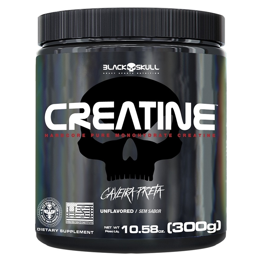 CREATINE 300G - Black Skull