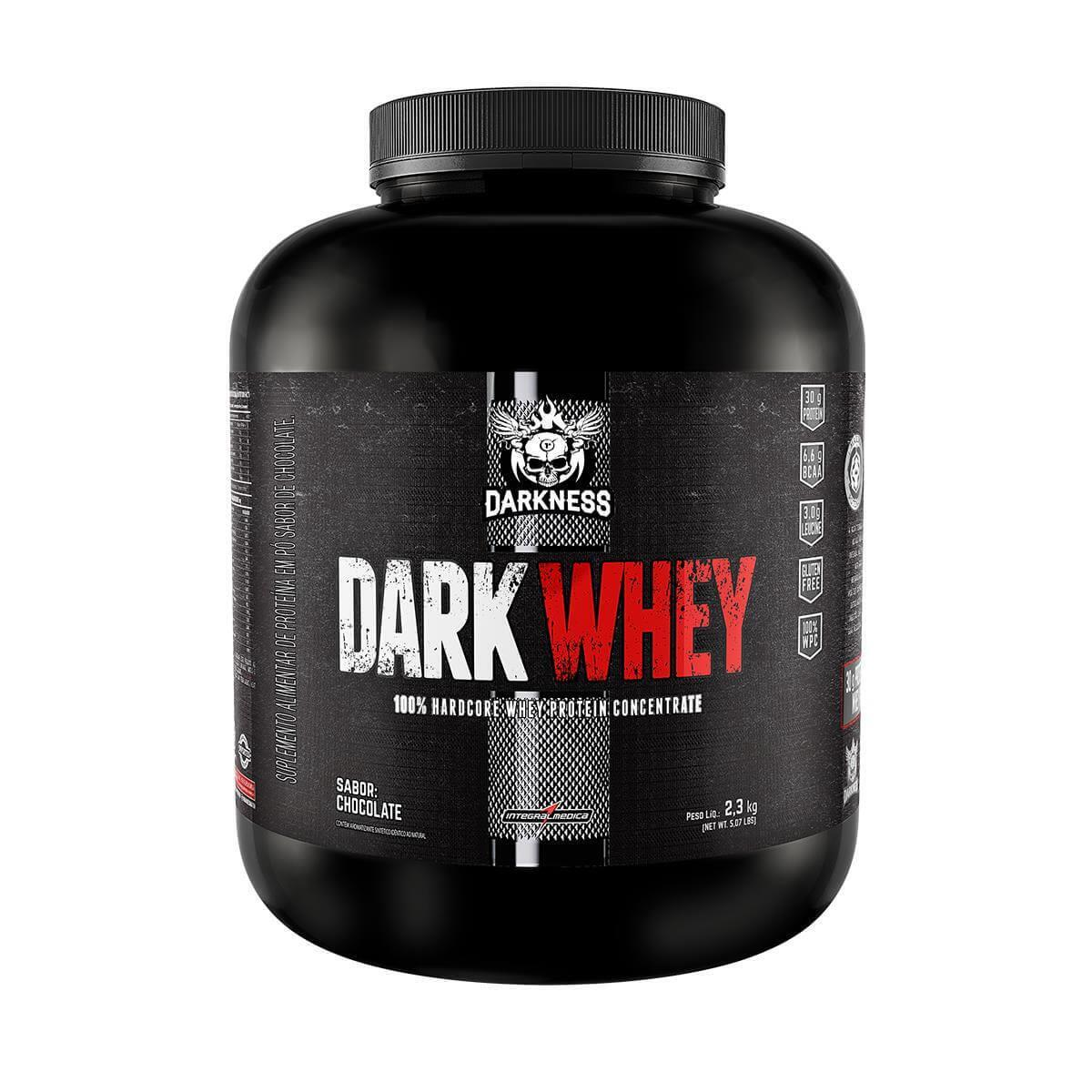 Dark Whey 2,300kg Baunilha