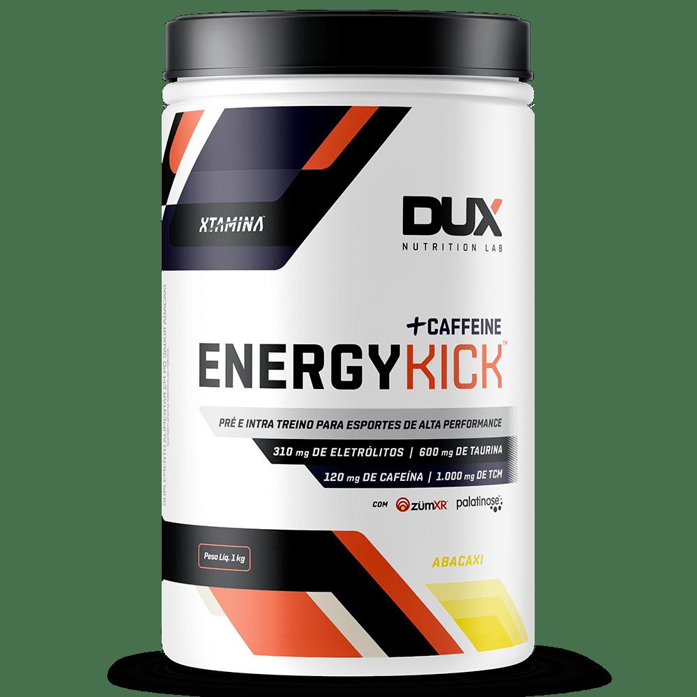 Energy Kick Caffeine Abacaxi - Pote 1000g