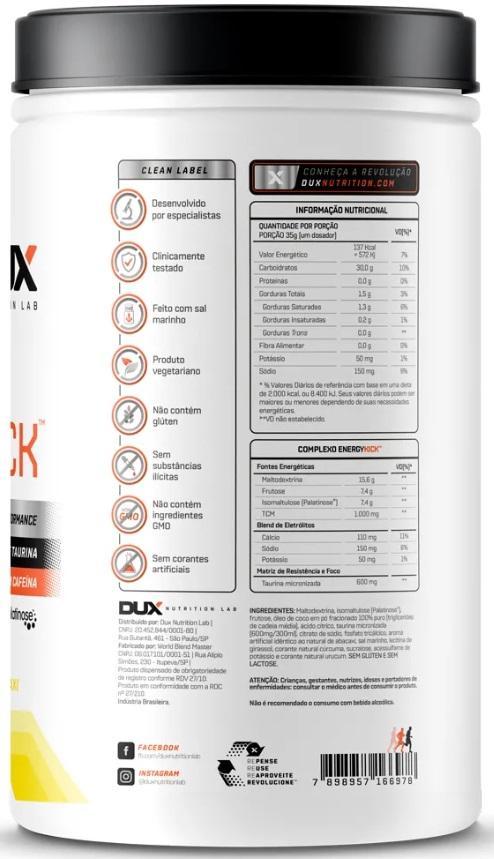 Energy Kick Melancia - Pote 1000g DUX NUTRITION