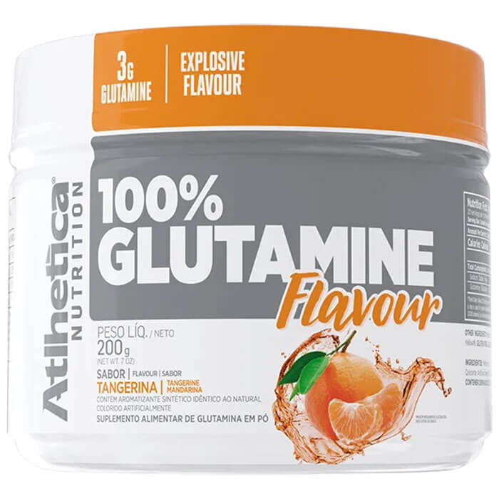 Glutamina Flavour 200g - Atlhetica