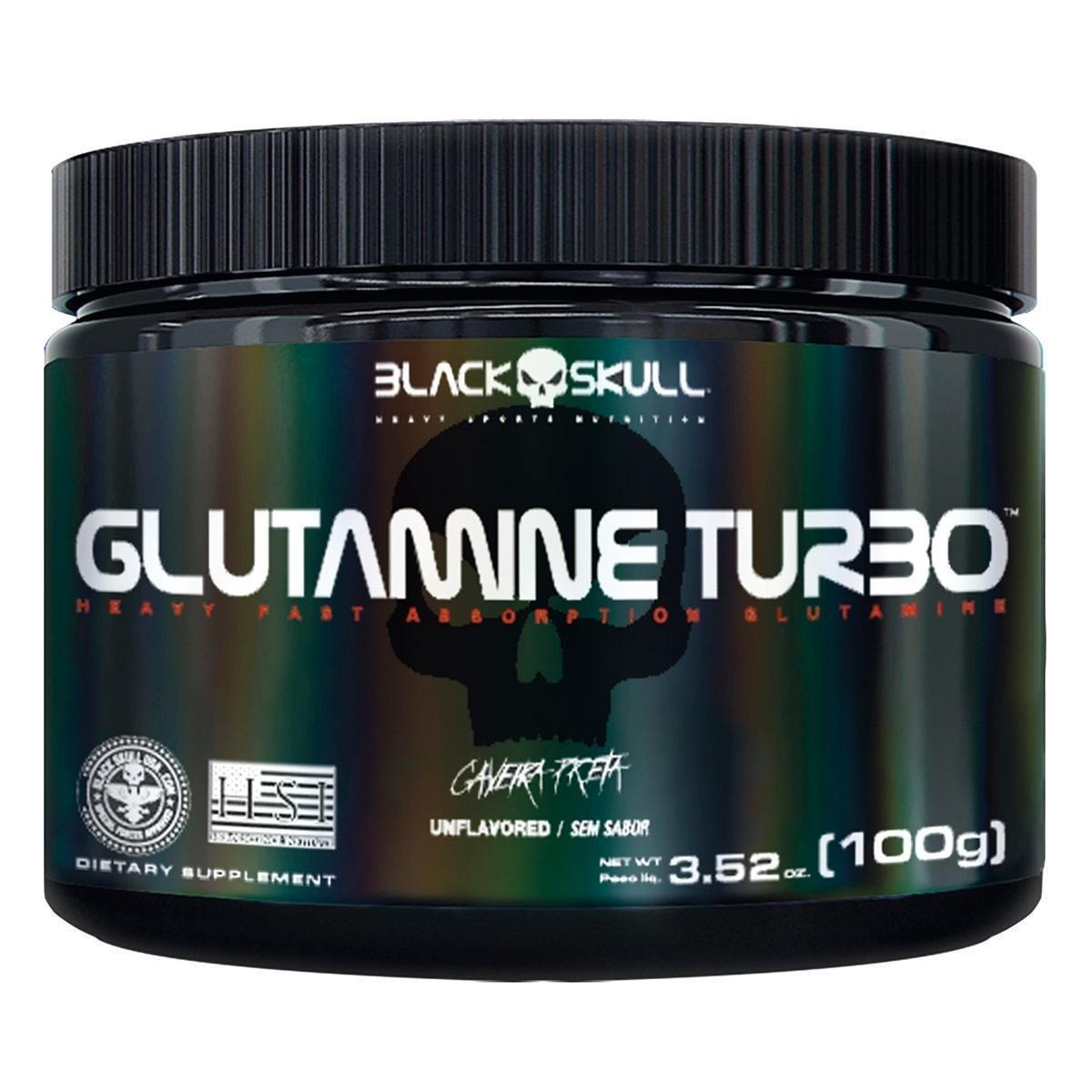 GLUTAMINE TURBO 100G - BLACK SKULL