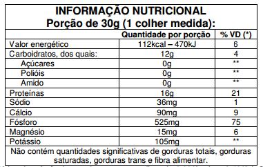 ISOCRISP (450g) NEUTRO - VITAFOR