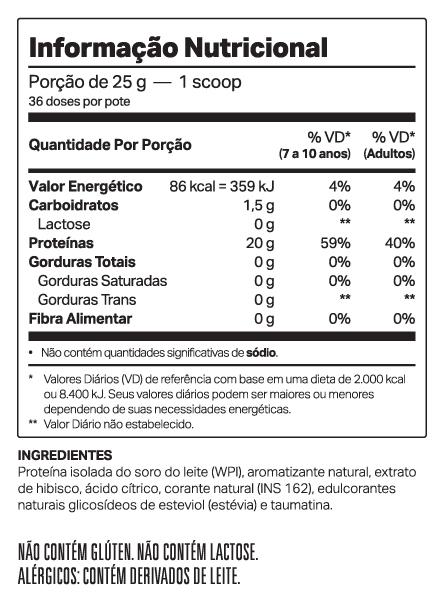 JUICEDOP ISO LIMAO+MATCHA 900g - ELEMENTO PURO