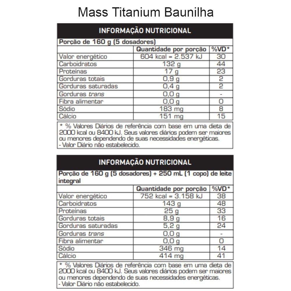 Mass Titanium 3kg - Max Titanium