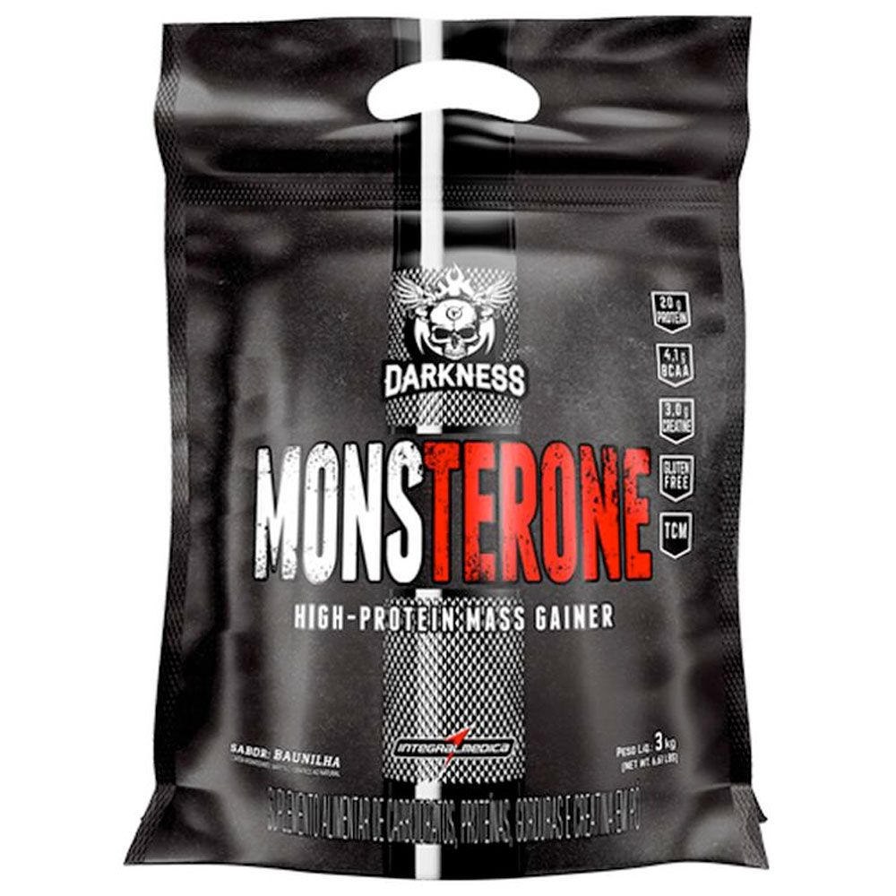 MONSTERONE (3Kg) BAUNILHA - DARKNESS