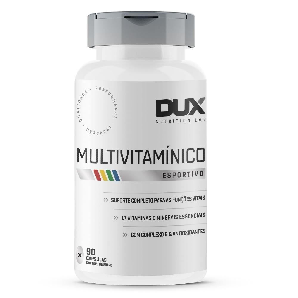 Multivitamínico - Pote 90 Cápsulas DUX NUTRITION