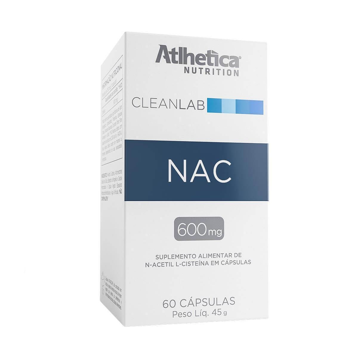 NAC 60Caps - ATLHETICA
