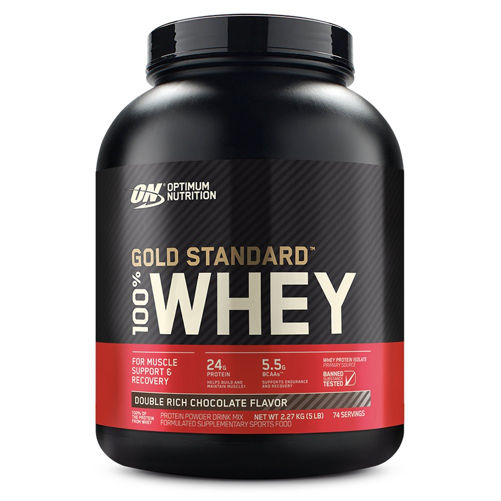 ON WHEY GOLD STANDARD BAUNILHA 5,00 LBS (2.27KG)