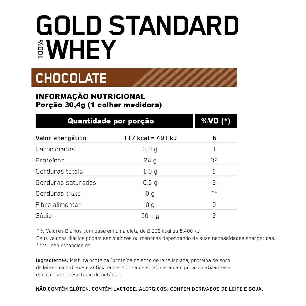 ON WHEY GOLD STANDARD BAUNILHA 5,00 LBS (2.27KG)