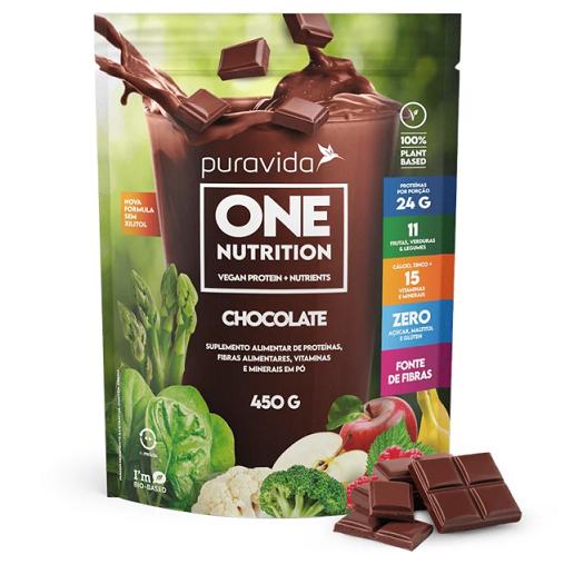 One  Nutrition Vegan Chocolate 450g - PURA VIDA