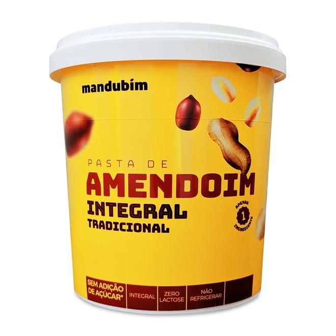 PASTA DE AMENDOIM MANDUBIM INTEGRAL TRADICIONAL 1.002Kg