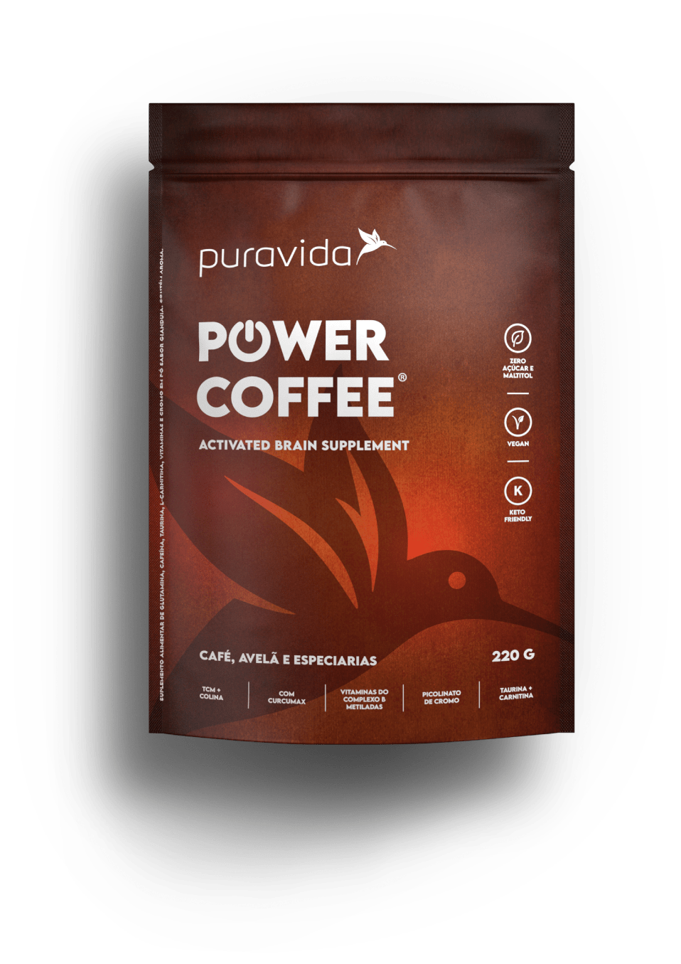 Power Coffe 220g - PURA VIDA