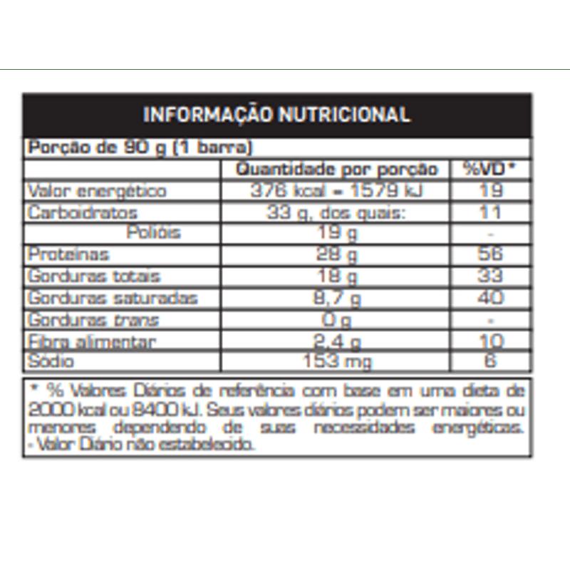 Power Protein Bar 90g Morango Sensation