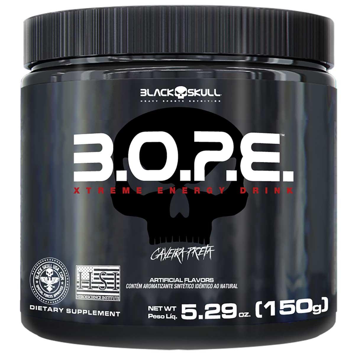 Pre treino BOPE - 150g - Black Skull