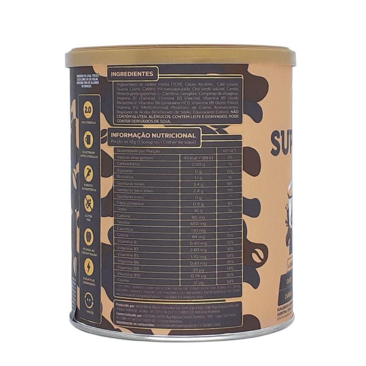 SUPERCOFFEE CHOCOLATE 220G