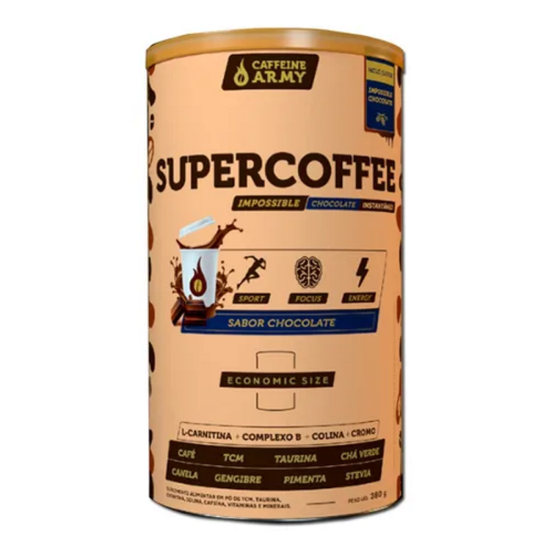 SUPERCOFFEE ECONOMIC SIZE CHOCOLATE 380G
