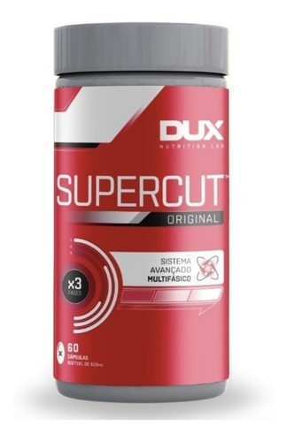 Supercut - 60 Cápsulas - DUX NUTRITION