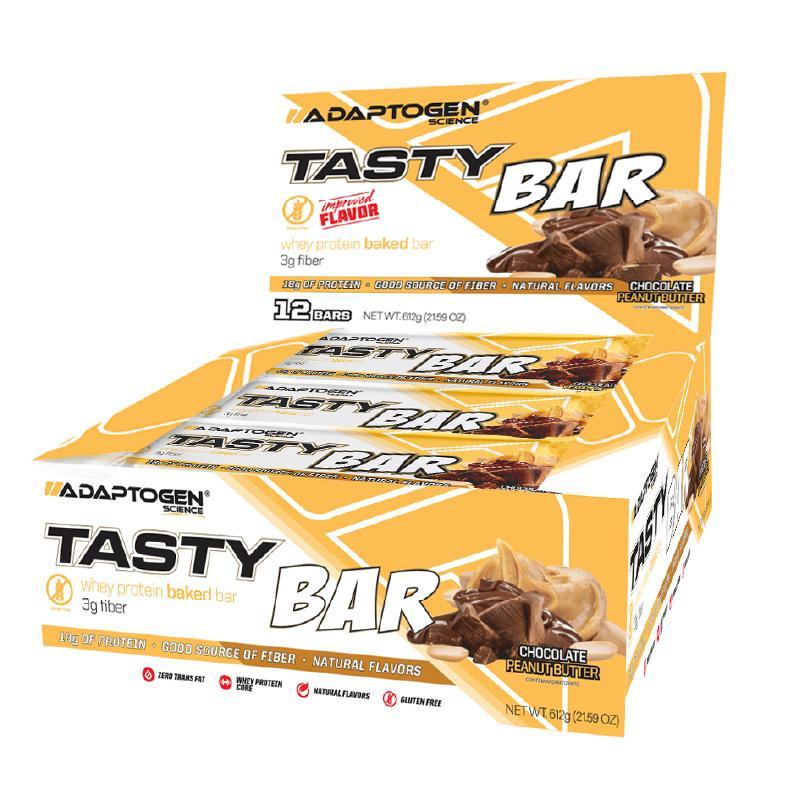 TASTY BAR CHOCOLATE PEANUT BUTTER 51G CX 12un