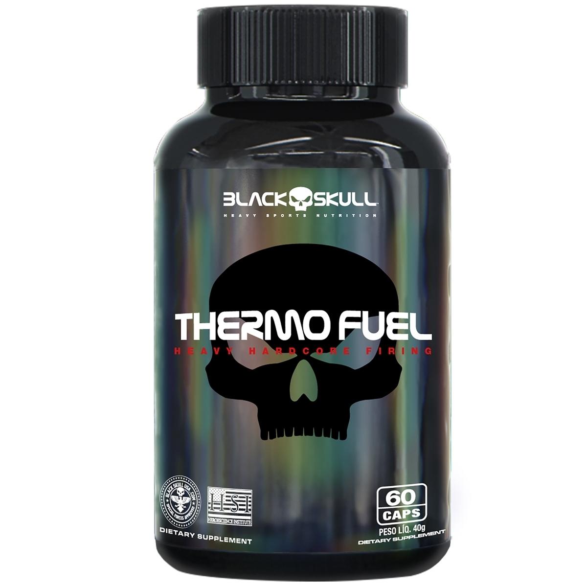 THERMO FUEL BLACK SKULL  60 CAPSULAS