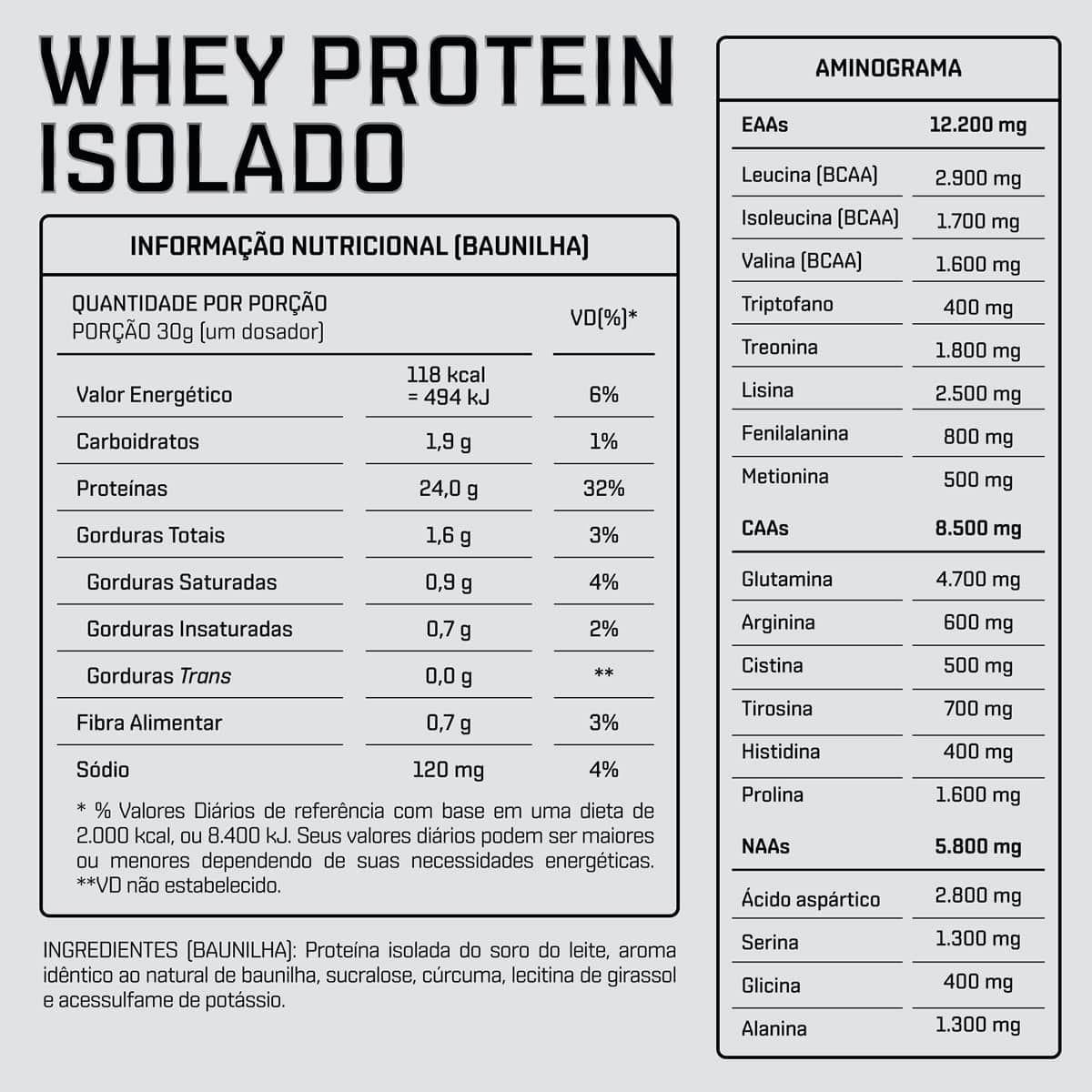 Whey DUX Isolado Chocolate - Pote 900g - 035