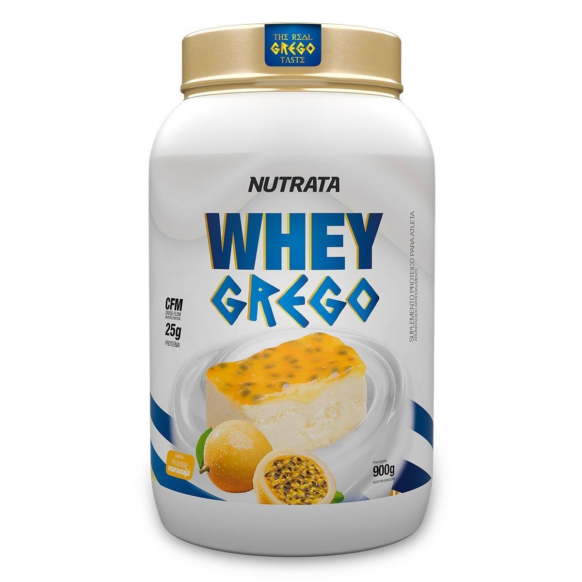 WHEY GREGO MOUSSE MARACUJA 900GR - 034