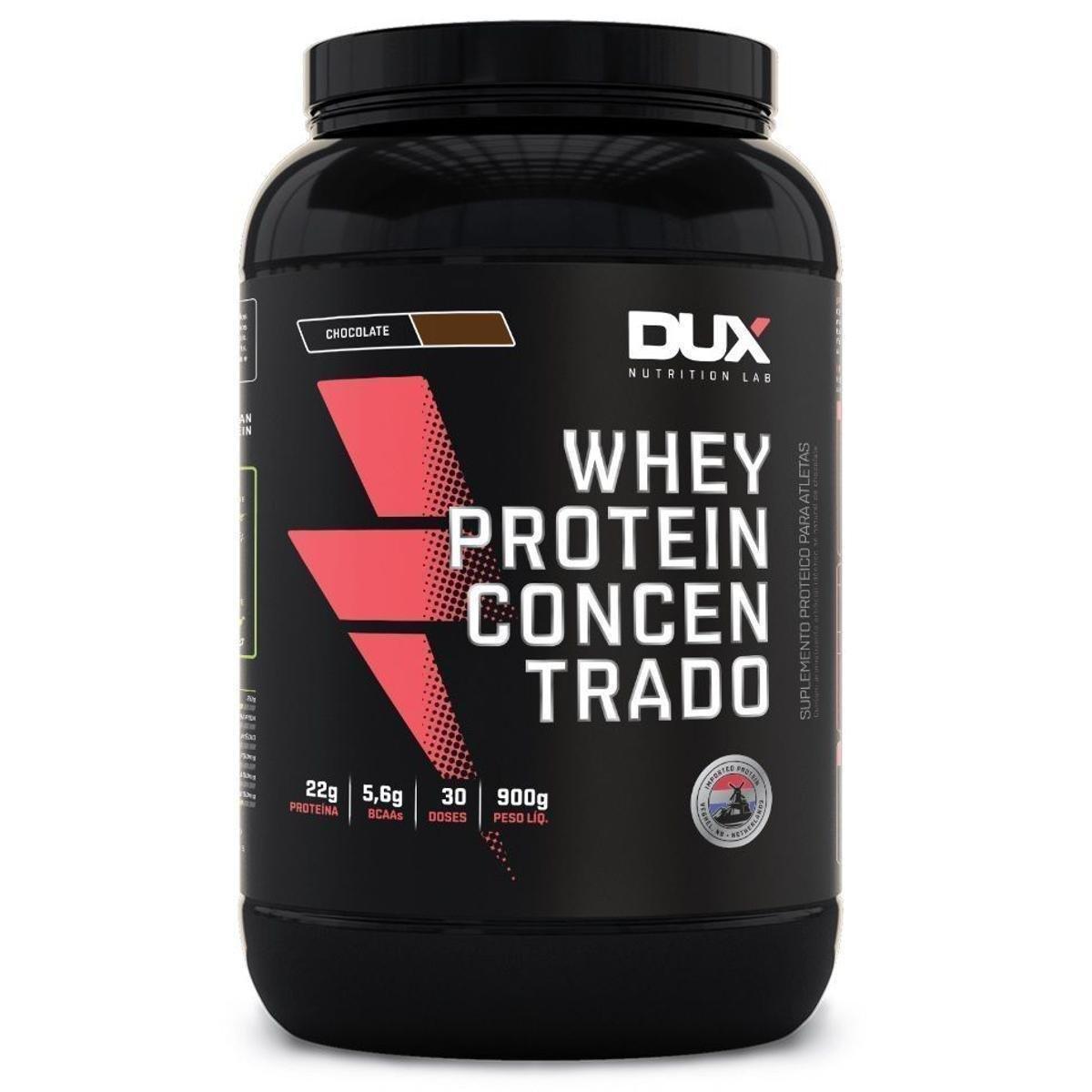 Whey DUX Concentrado - Pote 900g